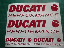 DUCATI Performance 1199 1098 999 998 916 899 Carenatura Decalcomania Sticker x4