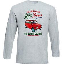 Vintage Italiano coche Fiat 500 giardiniera-Nuevo Algodón Camiseta