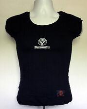 Jagermeister T Shirt Womens Juniors Medium/Large Black  White Stag Logo