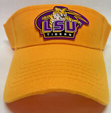 LSU Tigers Logo on a Gold visor cap hat! Adjustable! PLEASE READ LISTING!