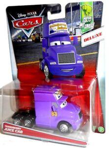 TRANSBERRY JUICE CAB - #63 Piston Cup Pit Crew Deluxe Disney Pixar Mattel Cars