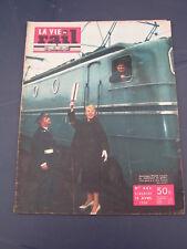 vie du rail 1958 642 SAINT JUST RAMBERT CHAMBLES JOSSIGNY ACHIET MIRAUMONT MORET