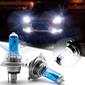 Xenon White H4 9003 55W Halogen Bulbs Fog Lights Headlight High Low Beam Daytime