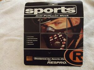 Respro Sportsta  Mask ( X-Large ) ( Black ) ( Brand New Sealed )