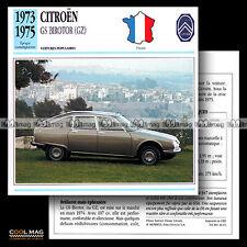 #046.01GS BIROTOR (GZ) 1973-1975 - Fiche Auto Classic Car card