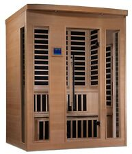 Dynamic 4 Per New York Low EMF FAR Infrared Sauna, Customer Dual Level Bench
