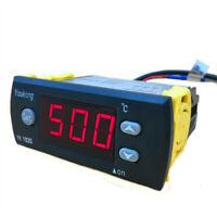 0~500 degrees Temperature Controller YK-1830F 2m Sensor Thermostat Regulator