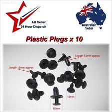 6mm Car Plastic Plug Fastener Rivets - guard inserts door trim panel clips rivet