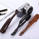 Camera Strap Wrist Hand Belt Strap PU Leather Lanyard for DSLR Camera Sony Canon