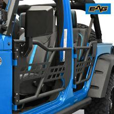 EAG Safari Tubular 4Doors Front Rear With Mirrors 07-18 Jeep Wrangler JK 4Door
