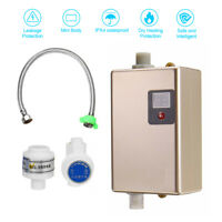 Mini 3500W Water Heater Electric Leakage Protection Waterproof for faces Kitchen