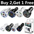 5-Port Car Charger USB Fast Charging QC3.0 Cigarette Lighter Adapter For iPhone
