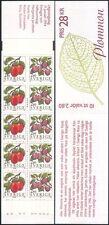Sweden 1994 Plums/Fruit/Food/Plants/Nature/Horticulture 10v bklt (n45422)