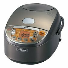 ZOJIRUSHI NP-VN10-TA Japanese rice cooker IH style extremely cook 5.5 brown