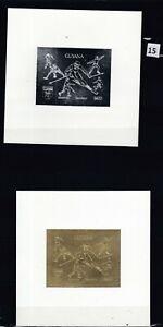 MZ GUYANA - MNH - IMPERF - SPORT - GOLD+SILVER - SOCCER - ICE HOCKEY - BASEBALL