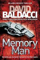 Memory Man (Amos Decker series), Baldacci, David , Good, FAST Delivery