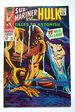 TALES TO ASTONISH No.92, 7.5, Marvel, Sub-Mariner Hulk, 1st Silver Surfer X-over