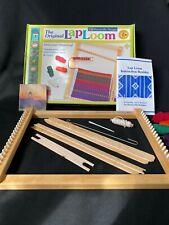 "Lap Loom Harrisville Designs Hardwood Weaving Loom Size A 12"" x 16"""