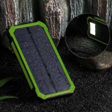 High Quality Solar Power Bank 50000mAh Waterproof Dual USB LED Mobile Charger