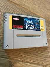SNES - Super Aleste Cart Super Nintendo Retro Game Very Rare