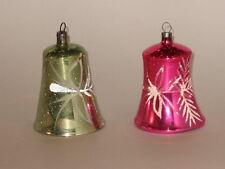 Bell Christmas Ornament Antique Czech Vintage Ornament Decoration 1950's