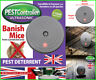 Ultrasonic Sonic Rat and Mouse Rodent Repeller Poison Free detterrent
