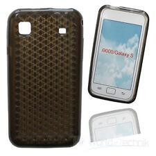 Custodia in silicone siliconcase per Samsung Galaxy S gt-i9000/S Plus gt-i9001 - Grigio