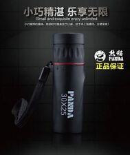 30X25 hd Panda 10x Portable pocket telescope concert Monocular Travel A