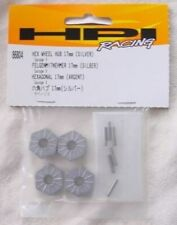 HPI Savage X 17mm Silver Hex Wheel Hubs & Pins HPI86804