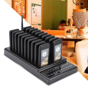 20 Channels Wireless Calling System Restaurant Guest Paging System Restaurant