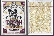 1 DECK Global Titan Club Pearl White playing cards