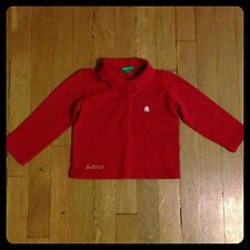 Pre-owned - UNITED COLORS OF BENETTON Long Sleeved Shirt -INFANT Girls - Size 83