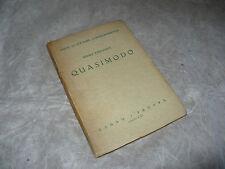 GUIDE DI CULTURA CONTEMPORANEA MARIO STEFANILE QUASIMODO CEDAM PADOVA 1943