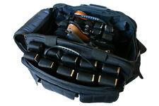 Ultimate Deluxe Tactical Pistol Black Range Bag Polyester 1200D Heavy Duty