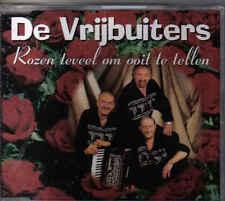 De Vrijbuiters-Rozen Teveel om Ooit Te Tellen cd maxi single