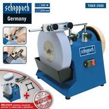 Scheppach Nass-Schleifsystem Tiger 2500 Nassschleifmaschine mit Zubehör 250mm