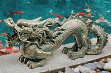 dragon garden statues. Asian Dragon Garden Statues (Set Of 2) Ornament Koi Pond Decor Chinese Oriental