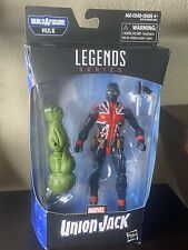 "Union Jack Marvel Legends Avengers Endgame Professor Hulk Baf 6"" Hasbro Nib"