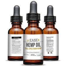 Full Spectrum Hemp Oil 250mg - Anxiety Relief Arthritis Inflammation Joint