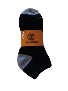 Timberland Stretch Support and Cushioned Men's 3pack of Socks Size 9-13