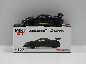 1:64 McLaren Senna RHD (Purple) True Scale Miniatures MGT00127-R