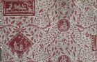 Beautiful 20th Cent French scenic toile wallpaper 5460