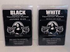SPEEDBALL ART PRODUCTS 0010749 JUMBO BLACK GRAPHITE PAPER 18X24 AND WHITE 9X12