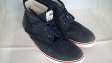 Mens Trainers Henri Lloyd 97374 navy Canvas Trainer Shoe Footwear Size 11