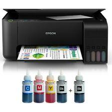 NEW EPSON L3110 Inkjet 4-Color Tank System 5760 dpi Printer Scan Copy