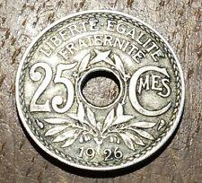 PIECE DE 25 CENTIMES LINDAUER 1926 (42)