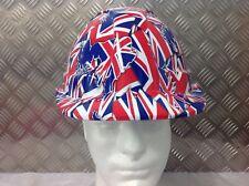 vented safety Helmet hard hat Union Jack design Builder Construction Skip Driver