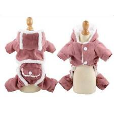 Winter Dog Pet Clothing Warm Hoodies Puppy Clothes Dogs Coat Jackets DP
