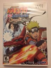 NARUTO SHIPPUDEN: DRAGON BLADE CHRONICLES for Nintendo WII Complete w/ Cards