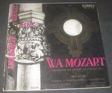 Lumen LD 3 116 Mozart Litaniae De Venerabili Münch LP RARE